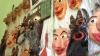 Ţine la creaţiile sale, ca la proprii copii. Un meşter popular a transformat personajele din folclorul moldovenesc în măşti