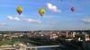 Vilnius, văzut din spaţiu. Turiştii pot admira oraşul dintr-un balon cu aer