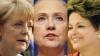 Angela Merkel, Hillary Clinton, Shakira şi Lady Gaga, printre cele mai puternice femei ale lumii. Vezi topul