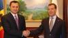 Medvedev îl cheamă pe Filat la Moscova