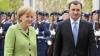 Angela Merkel va fi întâlnită cu onoruri militare la Chişinău