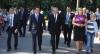 Muţi de Ziua Limbii. Timofti şi Filat au refuzat să facă declaraţii pentru presă VIDEO