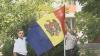 Primul drapel oferit de Publika TV pentru raionul Ştefan Vodă. Locuitorii din Talmaza au tricolor la liceul Ştefan Ciobanu