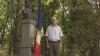 Cântece, dans şi voie bună în satul Pelinia, unde va fi arborat drapelul oferit de Publika TV