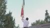 Un drapel de la Publika TV, arborat în centrul satului Scăieni: Sperăm că va fâlfâi pentru omenie, pace şi o viaţă mai bună VIDEO