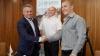 Vlad Plahotniuc la întrevedere cu Anatol Cârâcu: Ne-ați făcut să ne simțim mândri de țara noastră