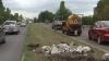 Porţiunea de drum Aeroport-Sângera, lăsată baltă după trecerea Angelei Merkel