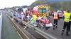 Un autocar cu turişti români s-a răsturnat în Franţa: 30 de persoane sunt în stare gravă