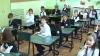 Micuţii din clasa I au învăţat regulile de circulaţie. Agenţii i-au răsplătit cu dulciuri
