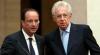 Front comun împotriva crizei: Francois Hollande s-a întâlnit cu Mario Monti