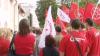 Protest în centrul Capitalei. Simpatizanţii Partidului Comuniştilor vor referendum privind aderarea Moldovei la Uniunea Euroasiatică