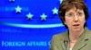 Catherine Ashton, încântată că UE a primit Premiul Nobel pentru Pace şi mândră că activează în cadrul UE