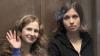 """Fetele din trupa """"Pussy Riot"""" îşi vor ispăşi pedeapsa departe de Moscova, în închisori diferite"""