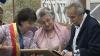 Poetul Dumitru Matcovschi şi soţia sa şi-au reînnoit jurămintele. Au sărbătorit astăzi nunta de aur