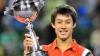 Kei Nishikori, primul japonez care a câştigat turneul Masters de la Tokyo