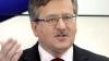 Preşedintele Poloniei, Bronislaw Komorowski, vine în Moldova