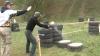 Dorin Recean şi Viorel Chetraru, la Campionatul Moldovei la trageri din pistol VIDEO