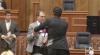 """Noi îmbrânceli în Parlament. Iurie Muntean rămâne """"în rolul principal"""" VIDEO"""