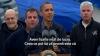 Barack Obama, printre ruinele lăsate de uraganul Sandy. Şi-a suspendat campania electorală VIDEO