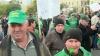 Proteste violente la Bucureşti. Fermierii, nemulţumiţi de situaţia din agricultură