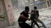 Forţele aeriane siriene au efectuat raiduri în regiunea Damasc