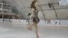 Are numai 12 ani, dar este singura care a avut curajul să facă patinaj artistic de performanţă în Moldova