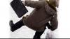 Record de adresări la Spitalul de Urgenţă. Din cauza gheţii, tot mai mulţi oameni îşi fracturează mâinile şi picioarele