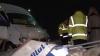 Accident cu implicarea unui microbuz: Şoferul, în stare de ebrietate, neagă că se afla la volan VIDEO