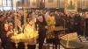 Prima duminică din Postul Crăciunului. Creştinii au mers la biserică şi s-au împărtăşit VIDEO