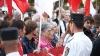 Amendă pentru protest: Unii activişti ai PCRM, obligaţi să plătească pentru scandări