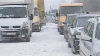 Moldova, ostatică a nămeţilor. Aproape 100 de maşini au fost BLOCATE între Edineţ şi Briceni