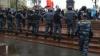 Ksenia Sobciak, Ilia Iaşin şi Serghei Udalţov au fost reţinuţi la Moscova