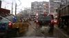 Chişinău: Trei şoferi fac depăşiri ieşind pe contrasens în acelaşi timp (VIDEO)