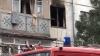 Incendiu într-un apartament din Capitală: Două autospeciale ale pompierilor au venit la faţa locului