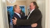 Gerard Depardieu, rus cu acte în regulă. Actorul şi-a luat paşaportul chiar de la  Vladimir Putin