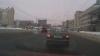 La volanul unui Prado, la culoarea roşie a semaforului şi pe contrasens (VIDEO)