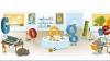 Logo-ul Google după petrecerea de Revelion