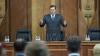 Examinarea cererii de demisie a lui Zubco, pe ordinea de zi a şedinţei extraordinare a Parlamentului, de luni