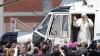 Papa Benedict al XVI-lea a părăsit tronul pontifical cu un elicopter