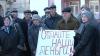 Protest la Bălţi: Mai mulţi angajaţi ai Combinatului de produse alimentare au cerut să le fie achitate restanţele salariale