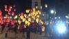 Aliona Moon, susţinută de sute de fani. Au lansat împreună 1.000 de lanterne veneţiene VIDEO