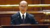 Traian Băsescu în Parlamentul României: Propun îndepărtarea din Guvern a miniştrilor cu dosare penale