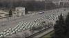 Maşini noi pentru Inspectoratul Naţional de Patrulare, prezentate cu mare fast în centrul Capitalei FOTO/VIDEO