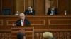 Voronin în faţa deputaţilor şi a premierului Filat: Corupţia a devenit mijloc de existenţă a actualei guvernări (VIDEO)