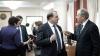 FOTO REPORT Cum a decurs ultima şedinţă a Guvernului Filat şi ce gesturi au făcut miniştrii