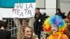 De Ziua Internaţionă a Teatrului, viitorii actori au ieşit în stradă. GALERIE FOTO