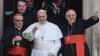 Papa Francisc a repetat gestul lui Isus Hristos înainte de răstignire VIDEO