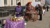 Producătorii autohtoni, din nou în faţa Ministerului Agriculturii: Au venit să-şi vândă produsele agricole ecologice