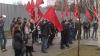 Din nou în stradă. Comuniştii au protestat în faţa Preşedinţiei, Reşedinţei şefului Legislativului şi Curţii Constituţionale