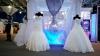 Raiul mireselor la Moldexpo. Zeci de rochii de nuntă, expuse publicului (VIDEO)
